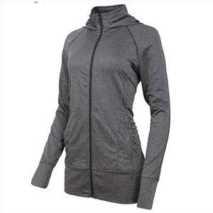 Mondetta Women's jacquard hooded knit jacket